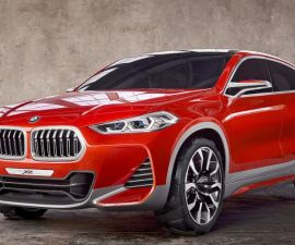 2018 BMW X2 Concept from Paris