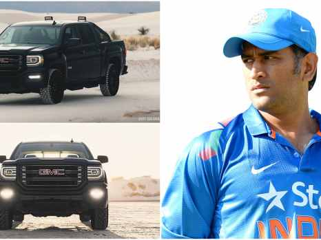 MS Dhoni and his GMC