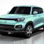 Maruti Future S micro SUV to take on Mahindra KUV100; Production version rendered