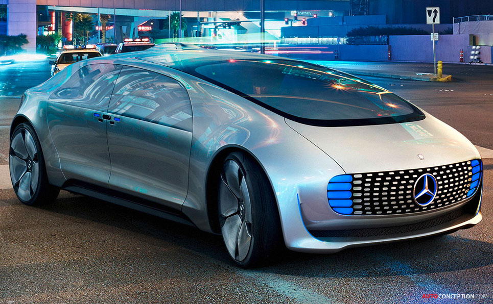 Mercedes Unveils Self Driving F015 Concept Car Ahead Of