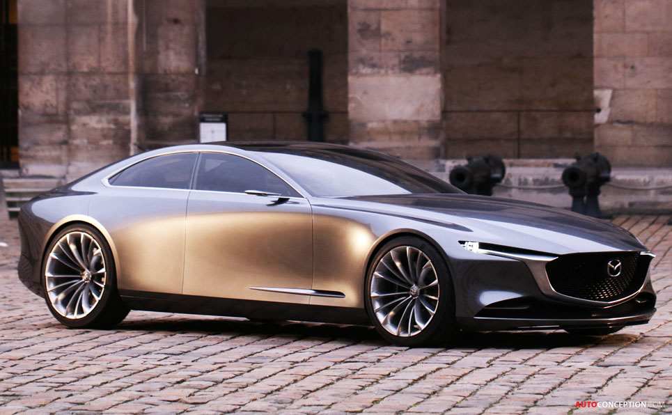 Mazda Vision Coupe Wins Most Beautiful Concept Car Of The