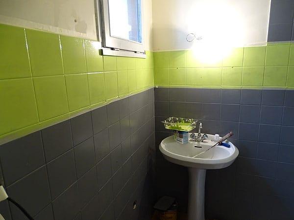 peinture carrelage salle de bain une