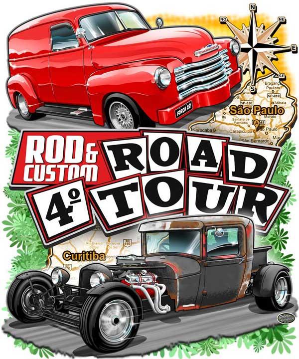 4º Road Tour da Revista Rod&Custom