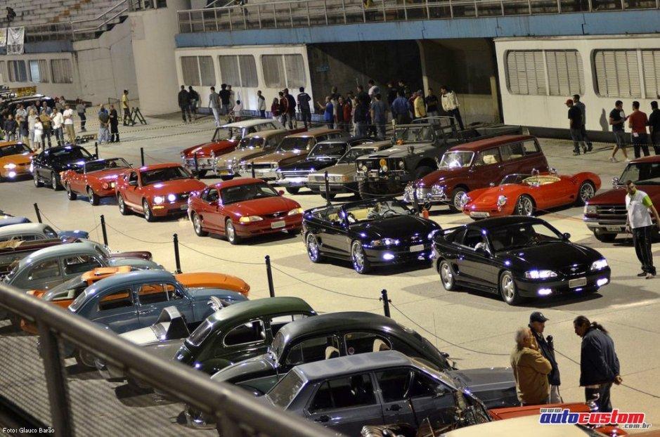 Noite do Mustang 2012 no Sambódromo de SP