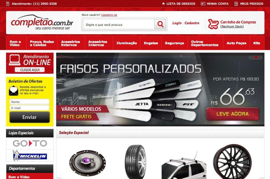 9851c9ad1 Completão – Uma das maiores lojas virtuais de peças e acessórios ...