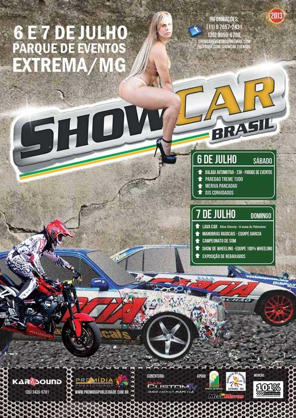Show Car Extrema MG Julho 2013 convite