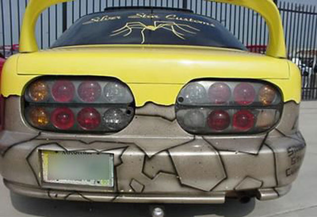 Car spider bizarre