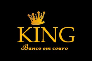 King Banco em Couro