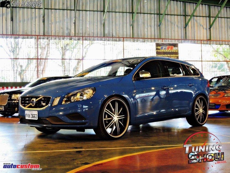 Volvo aro 20 e rebaixado - Tuning Show Brasil