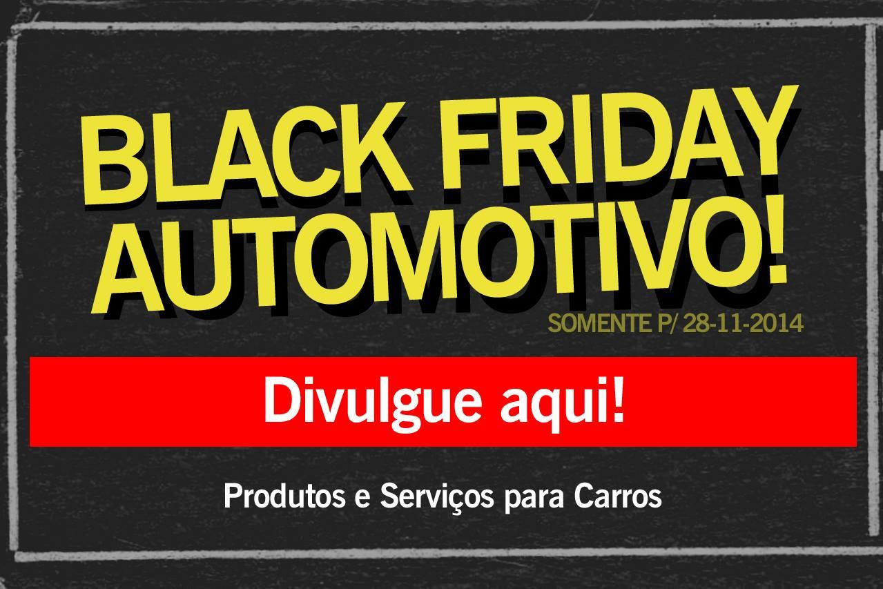 Black Friday para carros