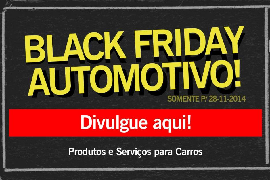Black Friday para carros
