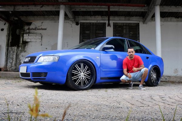 A4 1.8 Turbo aro 20, tala 10,5 e nova cor - Rodrigo Ferraz