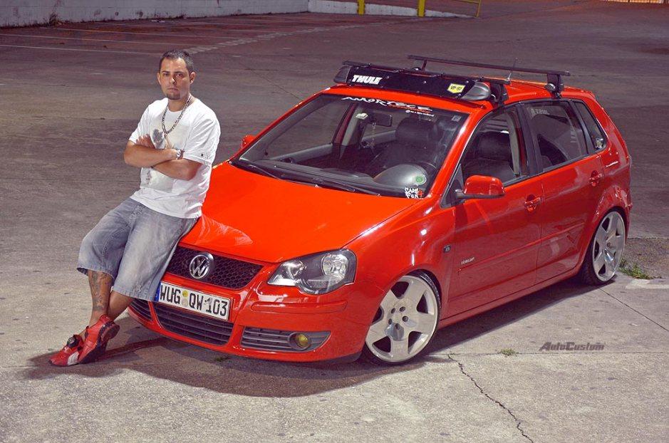 Atualizado! Polo 08 roda de Audi TT, rack e refletor - Jackson