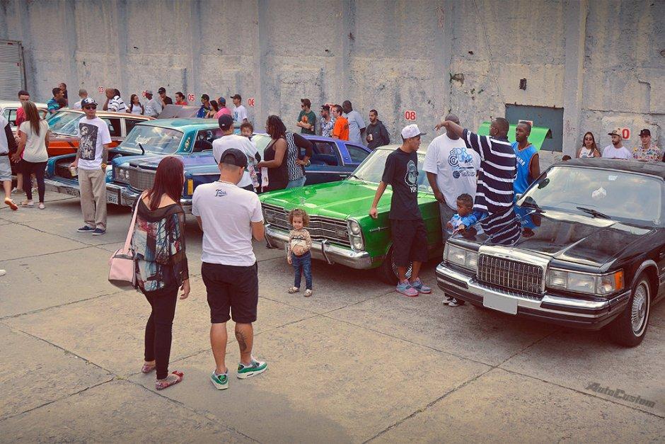 Encontro de Lowriders em Jundiai - Revolução Car Club