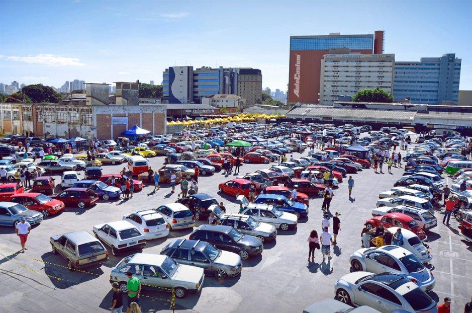 1º Volkslow - Encontro carros Volkswagen em Santana SP - 14 junho 2015