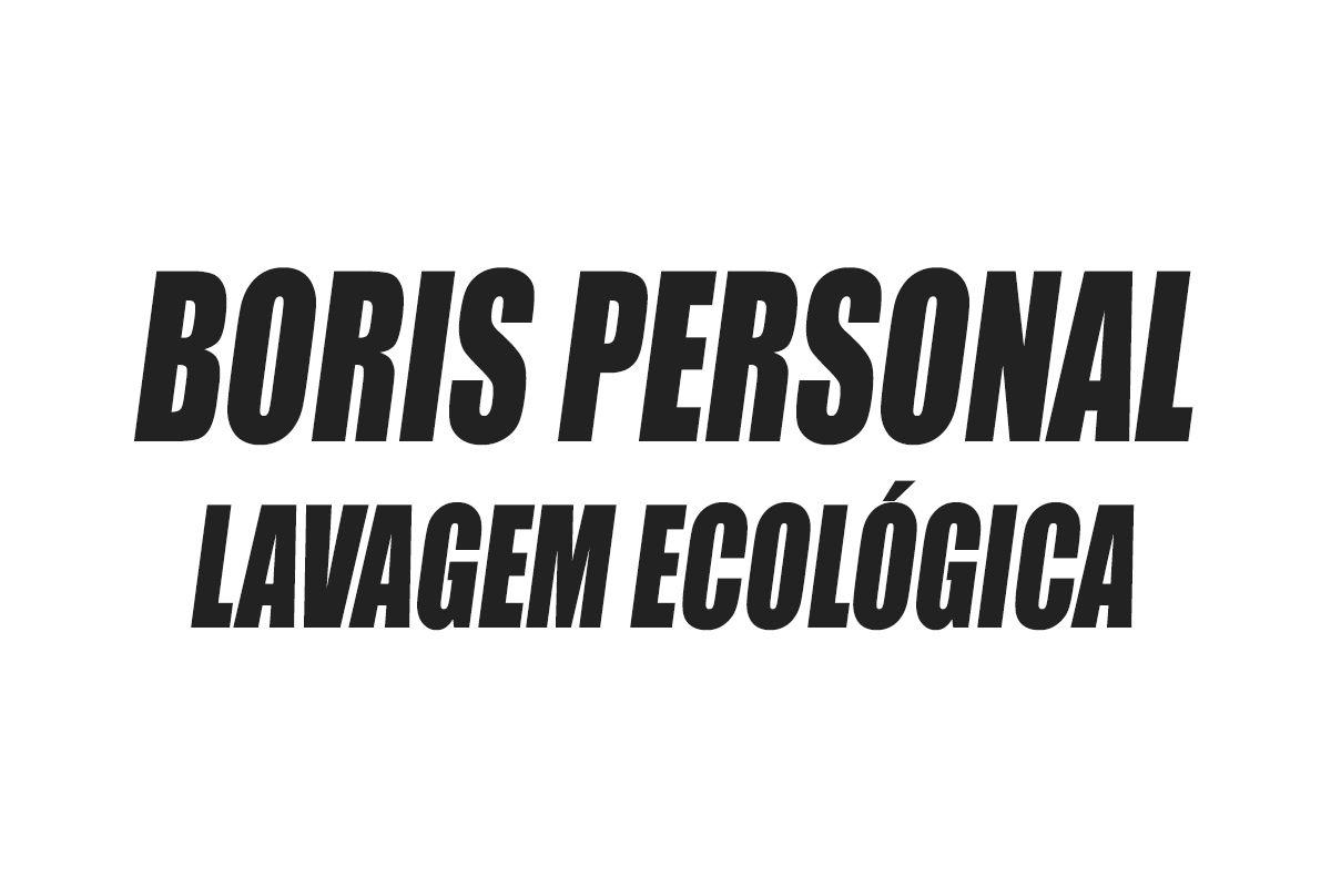 Boris Personal Lavagem Ecológica