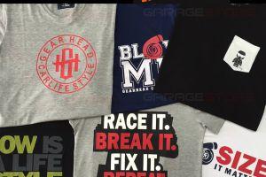 Sorteio de camiseta Gearhead na GarageStore - Participe!