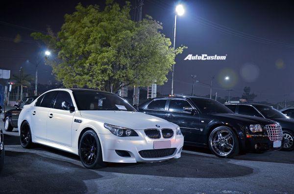 BMW M5 e Chrysler 300C