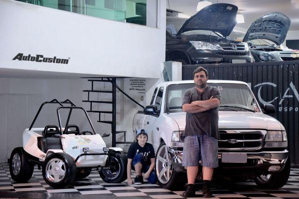 Ranger e Buggy equipados! Sonhos de Pai e Filho realizados