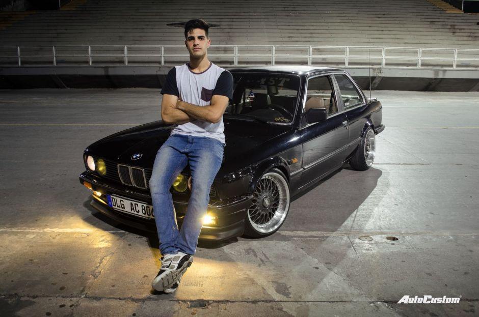BMW 325 1986 com aro 17 e rebaixada - Pedro Mansueto