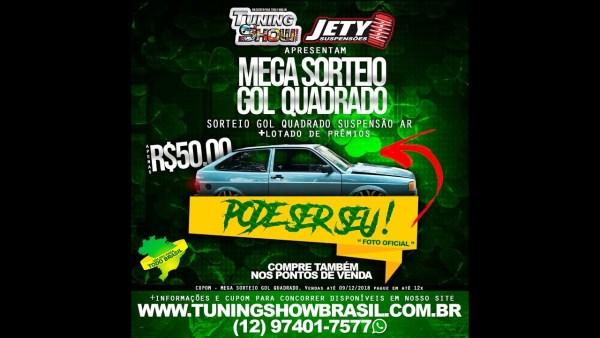 Mega Sorteio GOL Quadrado no TSB Final 2018