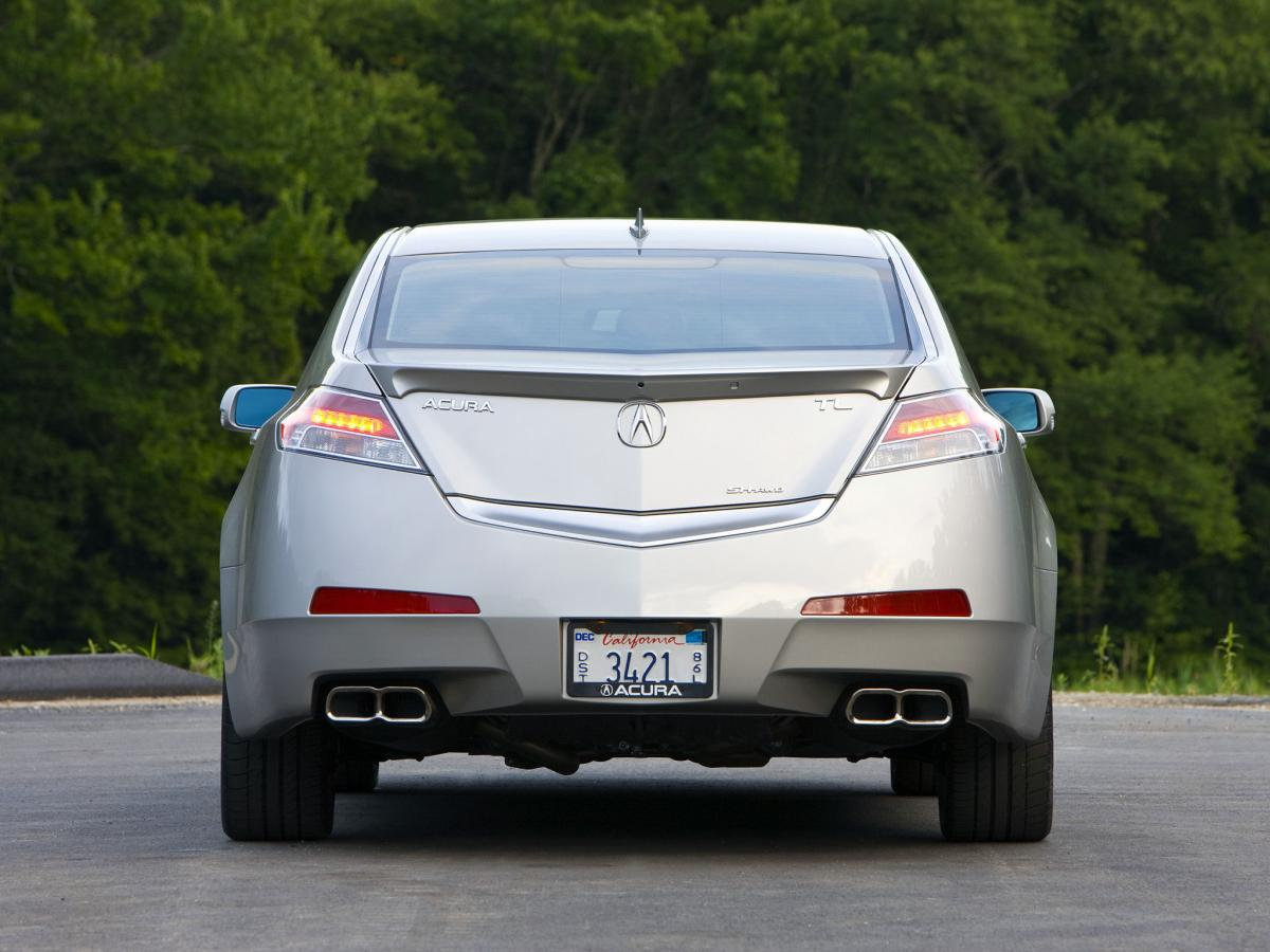 acura tl technical specifications and