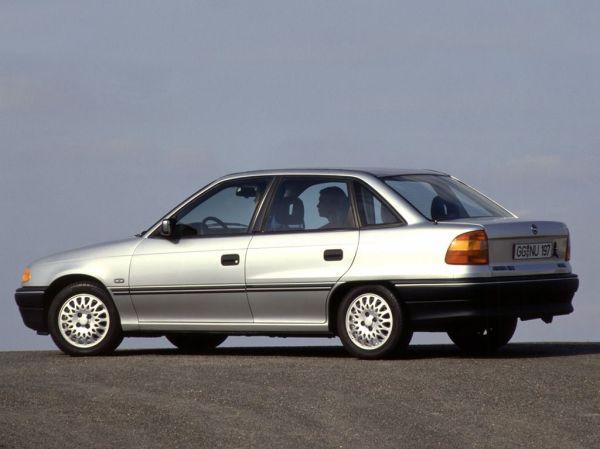 Opel Astra F 1.7 TD (68 Hp)