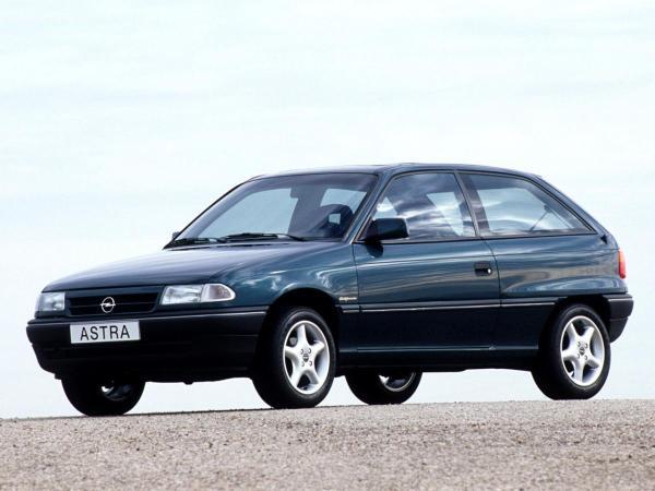 Opel Astra F CC 1.6 Si (100 Hp)