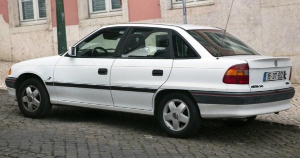 Opel Astra F Classic 1.4i (60 Hp)