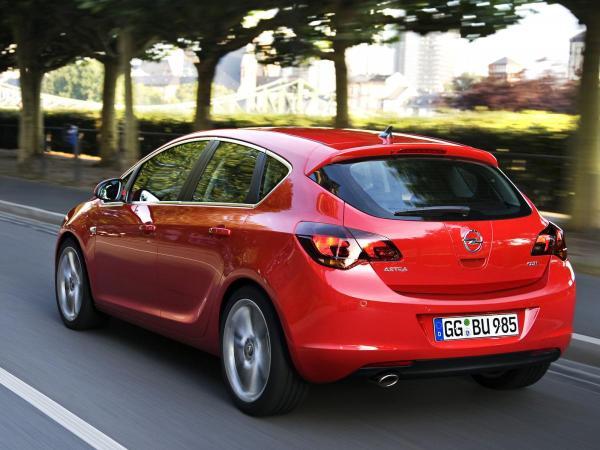 Opel Astra J 1.6 (180 Hp) Turbo