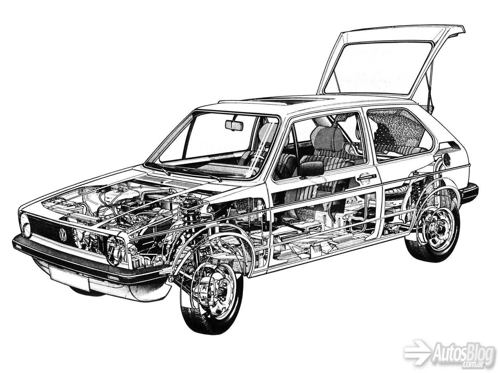 Galeria De Fotos Del Volkswagen Golf Gti Mk1