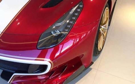Horacio Pagani sumó su primer Ferrari a su colección personal