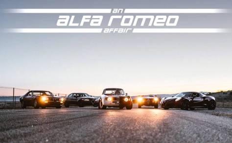 Vídeo: Una selección de los Alfa Romeo de ayer y hoy, por Petrolicious