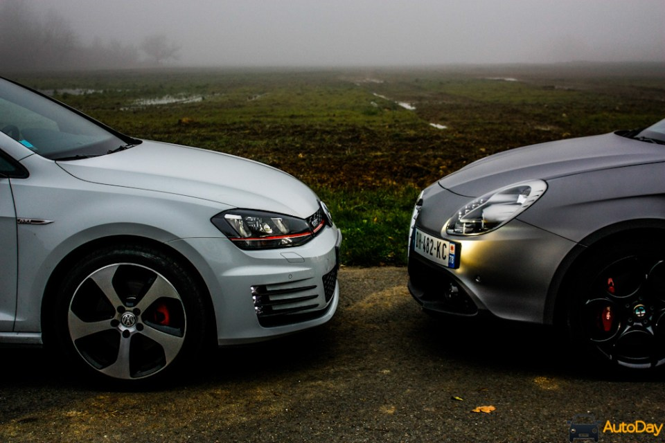 Comparatif VW Golf GTI