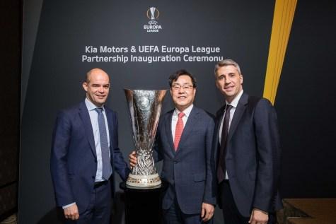 Kia Motors UEFA Europa League Partnership