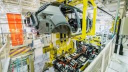 Volvo XC40 Recharge, production à Gand, Belgique