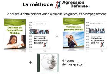 Cours vidéo anti agression auto défense