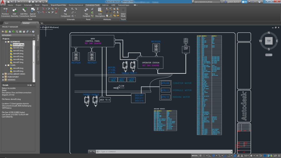 AutoCAD Electrical Toolset   Electrical Design Software The AutoCAD Electrical toolset enables customer and supplier collaboration