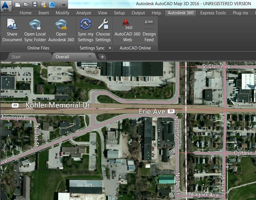 AutoCAD MAP 3D   3D GIS Mapping Software   Kanisco Desktop to web to A360