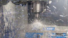 CNC machine milling