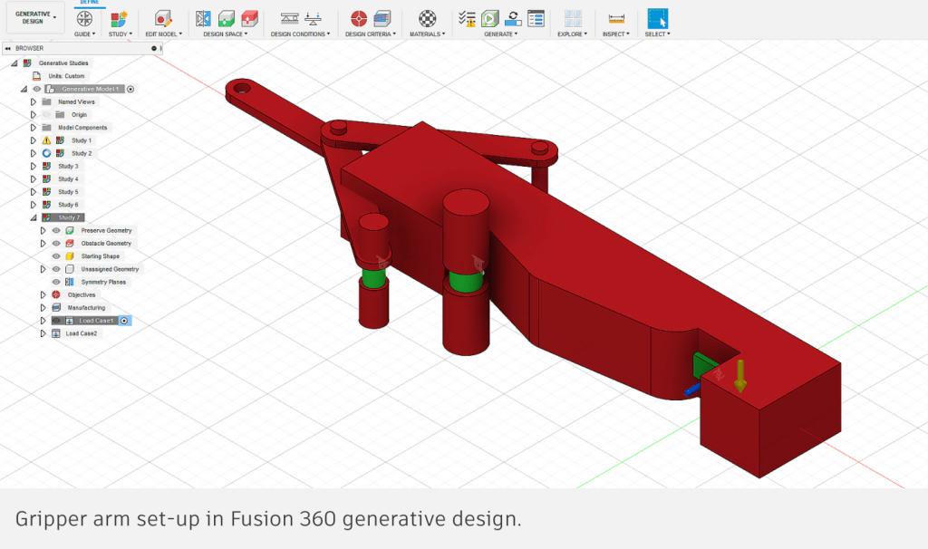generative-design-gripper-arm-fusion-360