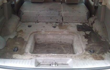 Rear Van Before
