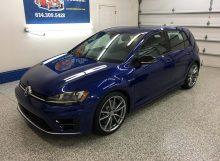 2017 Blue Volkswagen Golf R