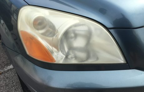 Honda CRV Faded Headlight