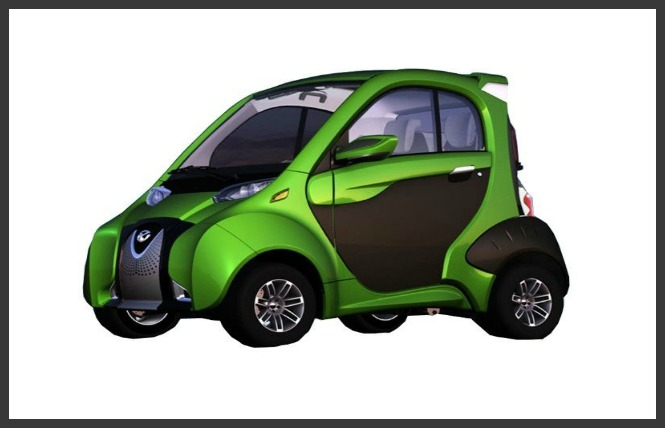 Fulu Electric Car A01