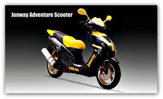 Jonway Adventure Scooter