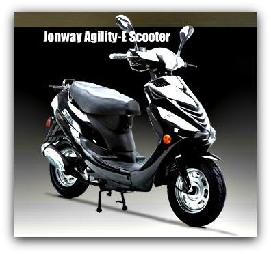 Jonway Agility-E Scooter