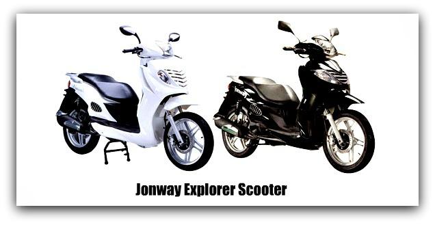 Jonway Explorer Scooter