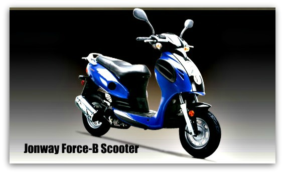 Jonway Force-B Scooter