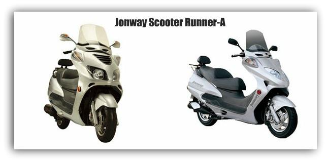 Jonway Scooter Runner-A